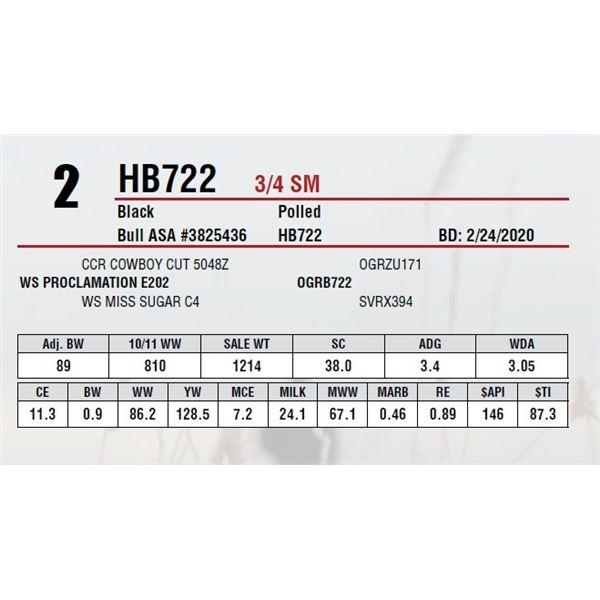 HB722