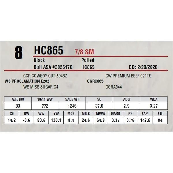 HC865