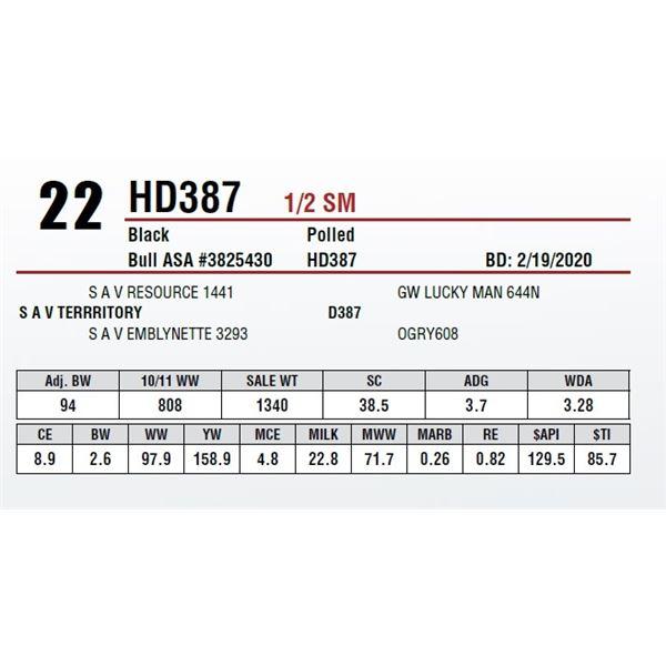 HD387