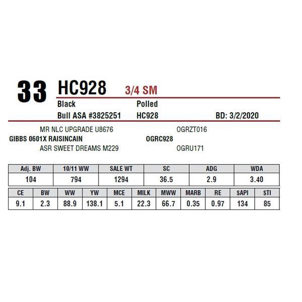 HC928