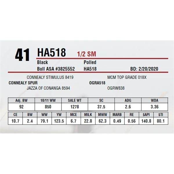 HA518