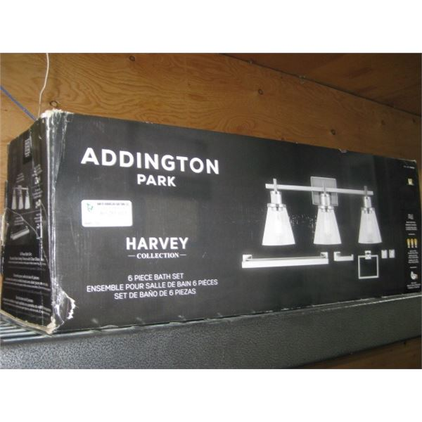 ADDINGTON PARK HARVEY 6PC BATH SET