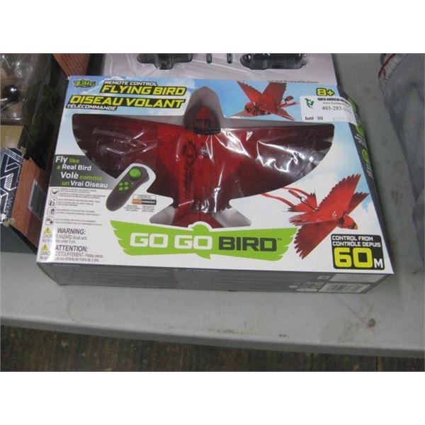 ZING REMOTE CONTROL FLYING BIRD