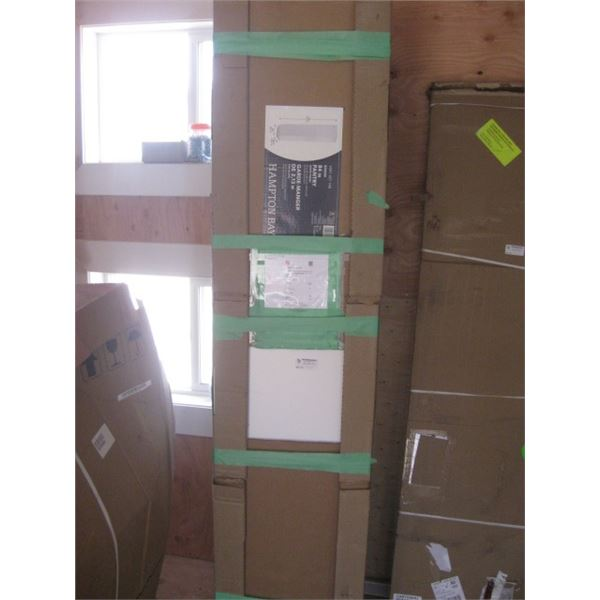 EDSON DUSK 84 INCH PANTRY DAMAGED FREIGHT
