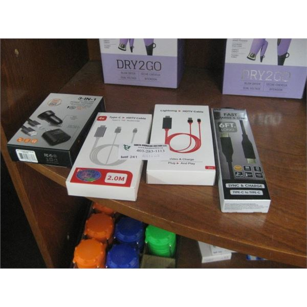4PC CORD PHONE VIDEO 3 IN 1