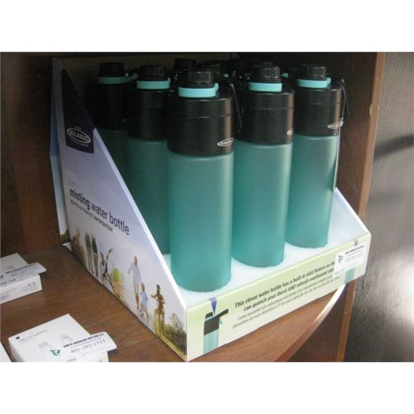 9PC RELAXUS 2 IN 1 MISTING WATER BOTTLE