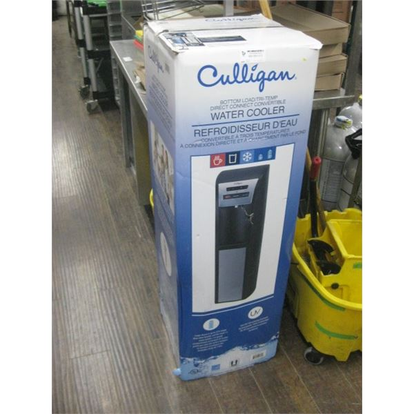 CULLIGAN WATER COOLER USED IN BOX