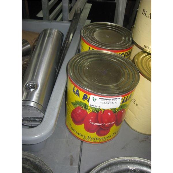 2 CAN TOMATOS