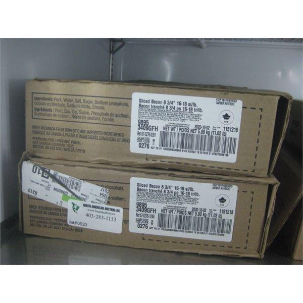 GORDON SLICED BACON 1 1/2 BOXES 11LBS