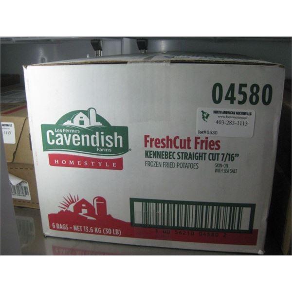 CAVENDISH FRESHCUT FRIES 30LBS
