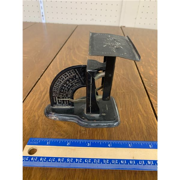 PAT 1904 POSTAGE SCALE