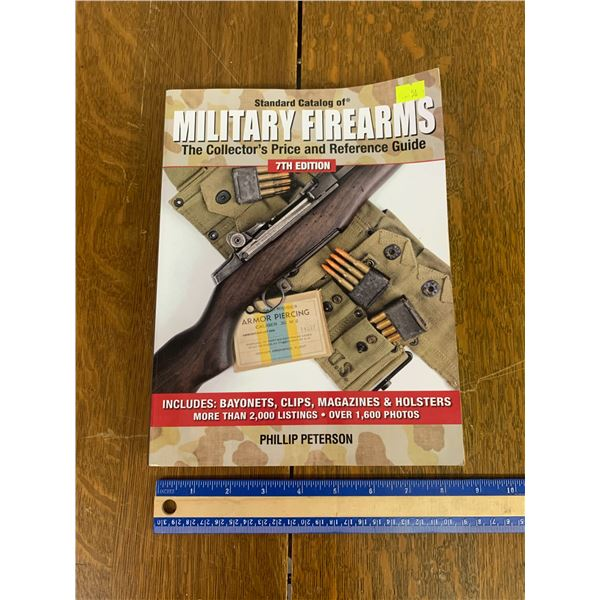 7TH EDITION STANDARD CATALOG OF MILITARY GUNS BOOK