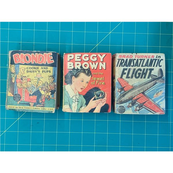 LOT OF BETTER LITTLE BOOKS BLONDIE PEGGY BROWN ETC