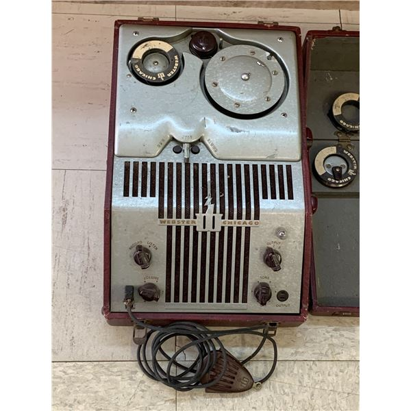 1940s ANTIQUE WEBSTERS WIRE RECORDER