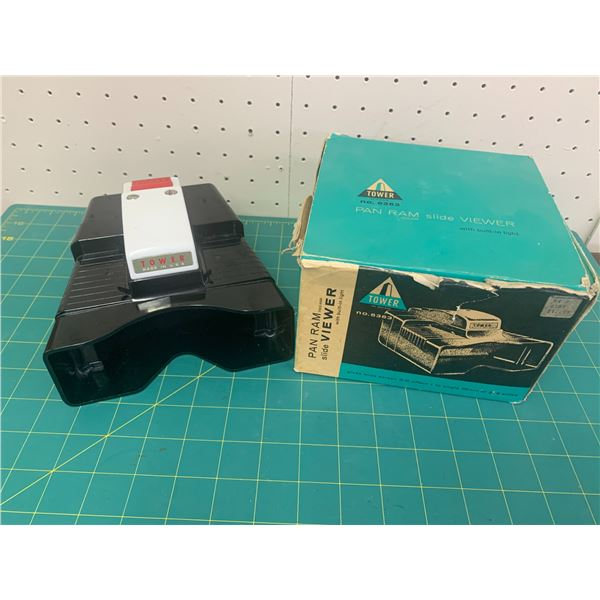 VINTAGE TOWER SLIDE VIEWER WITH BOX