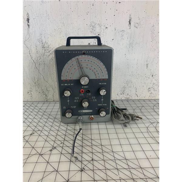 HEATHKIT MODEL IG 102S RF VINTAGE SIGNAL GENERATOR POWERS ON