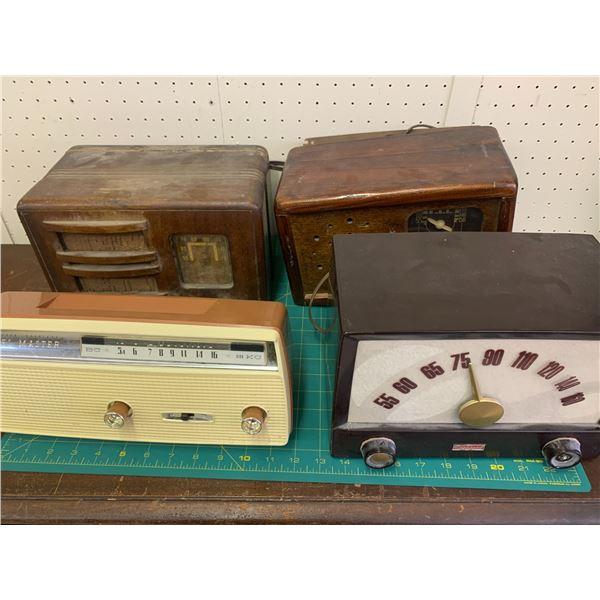 LOT Of 4 RADIOS REPAIR OR PARTS