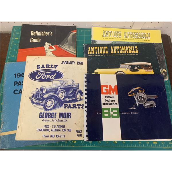 LOT OF VEHICLE RELATED BOOKS