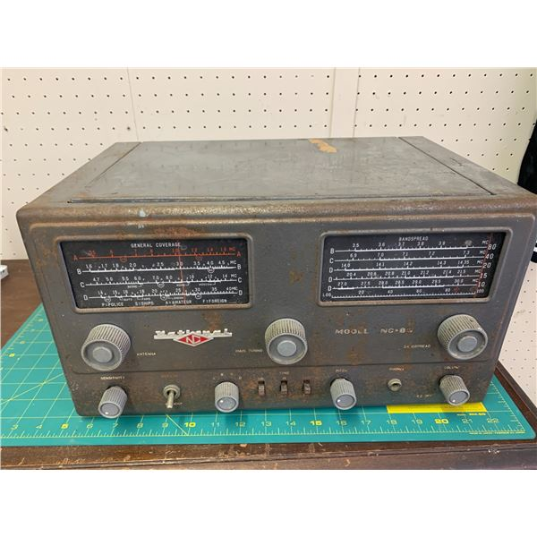 VINTAGE NATIONAL RADIO