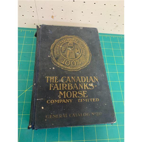 1919 FAIRBANKS MORSE NO 20 GENERAL CATALOG 960 PAGES