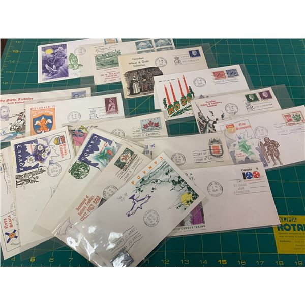 LOT OF FIRST DAY ISSUE STAMP ENVELOPES