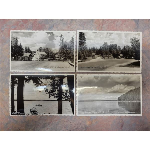VINTAGE PACKAGED SET OF PRINCE ALBERT NATIONAL PARK PHOTOGRAPH POSTCARDS