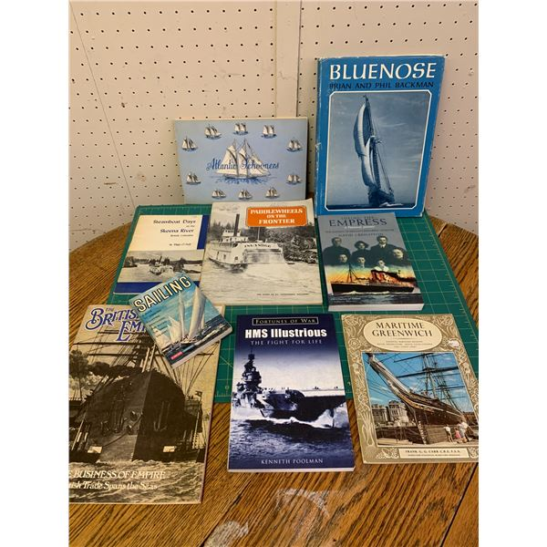 LOT OF BOAT RELATED BOOKS