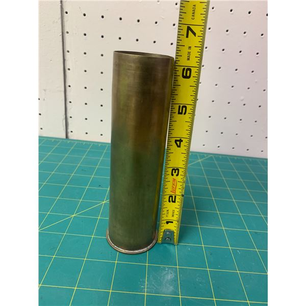 LARGE BRASS SHELL CASING 1943 WWII