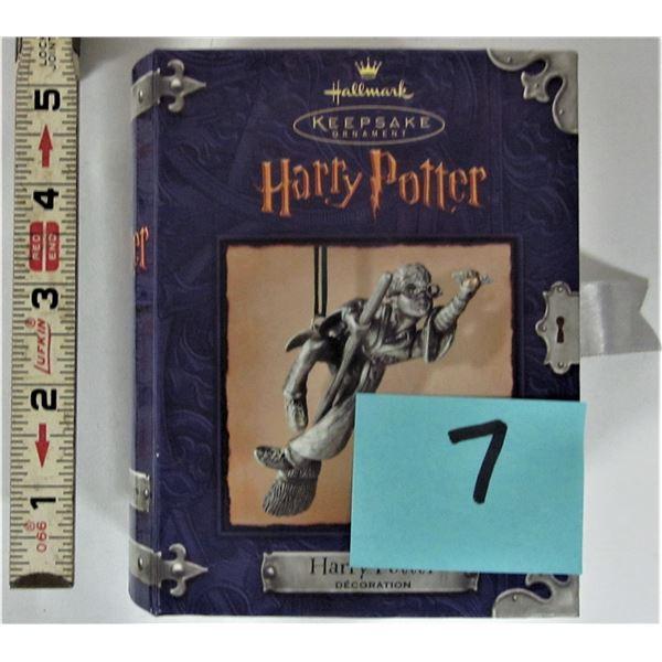 2000 Harry Potter pewter Hallmark Keepsake decoration - rare