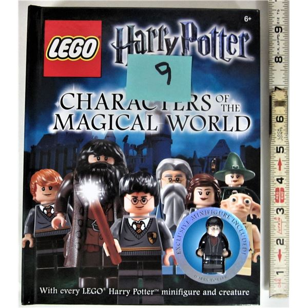 2012 Lego Harry Potter characters of the magical world includes exclusive Harry Potter mini figure