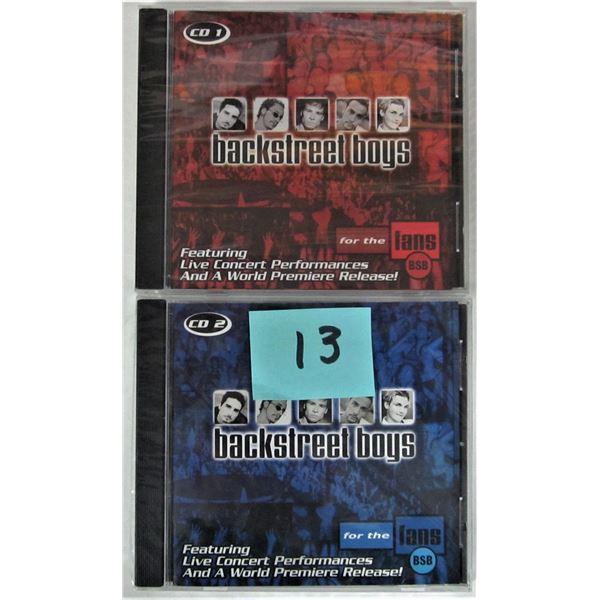 2 new 2000 backstreet boys for the fans CD #1 & CD #2