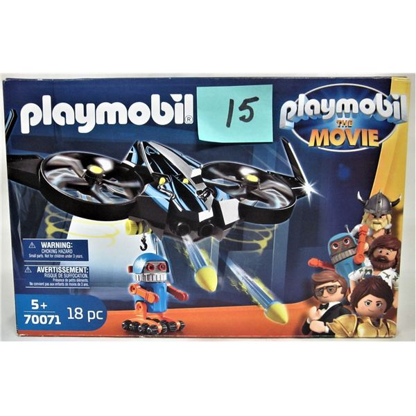 New 2019 Playmobil 70071 the movie Robitron drone & robot