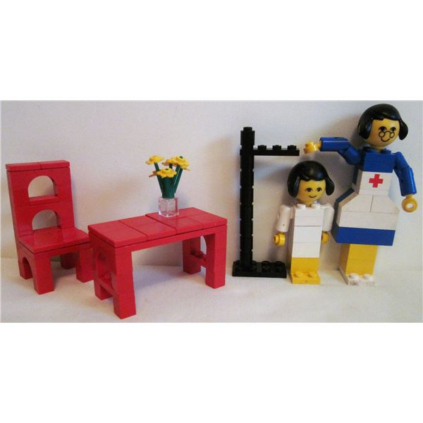 rre 1977 Homemaker/furniture Lego set #276 'Doctor's office'