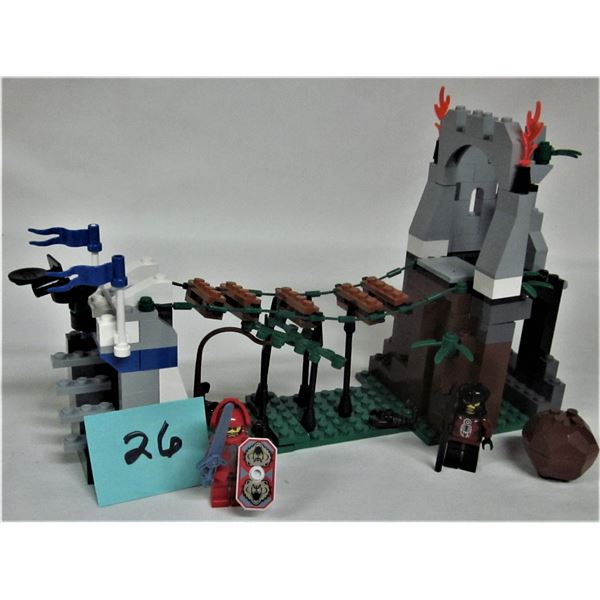 2004 castle Lego #8778 Knight's Kingdom II 'border ambush' 100%