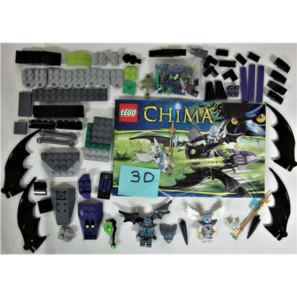 2014 legends of Chima Lego 70128 'Braptors wing striker' 100% with instructions