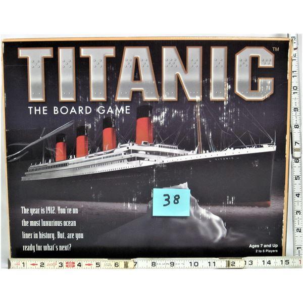 rare 1998 Titanic board game