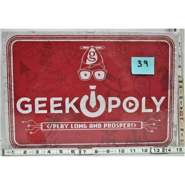 New sealed 'Greekopoly' board game