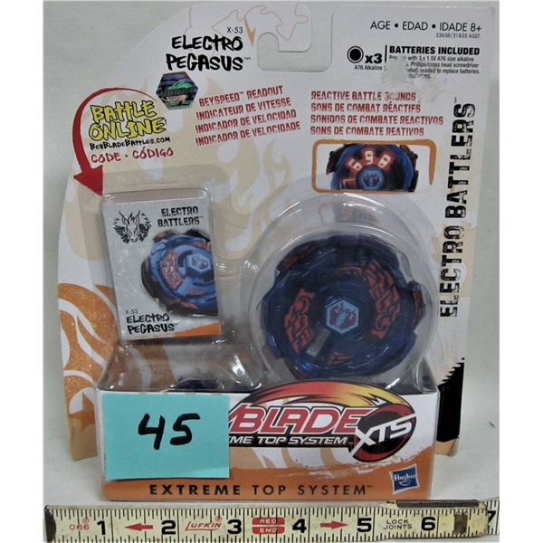 NEW 2011 Hasbro Beyblade Masters Electro Battler X-53 Electro Pegasus