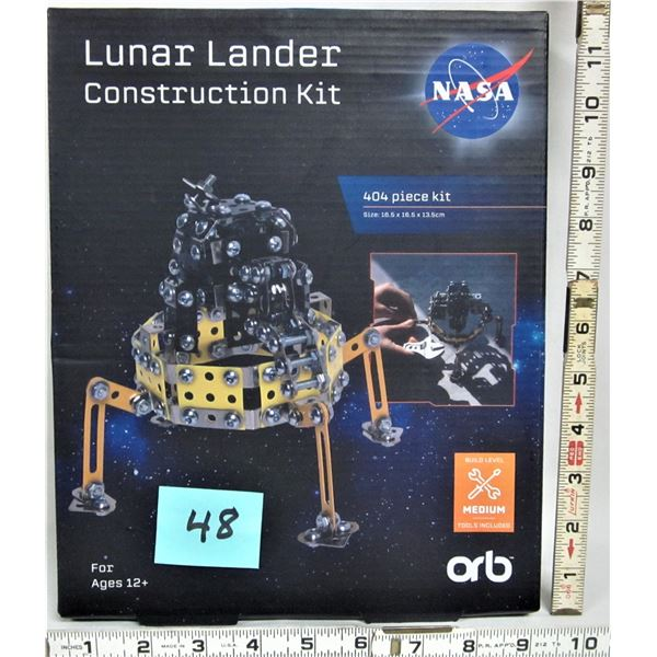 "New sealed ""NASA"" Lunar Lander construction kit 404 piece (Meccano?)"