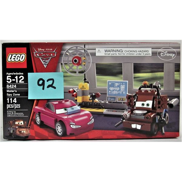 New sealed Disney Pixar's Cars 2 Lego 8424 Mater's spy zone