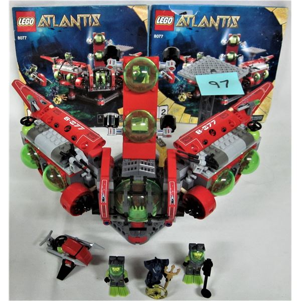 vintage 2010 Aquazone/Atlantis #8077 Atlantis Exploration HQ 473 both complete with instructions