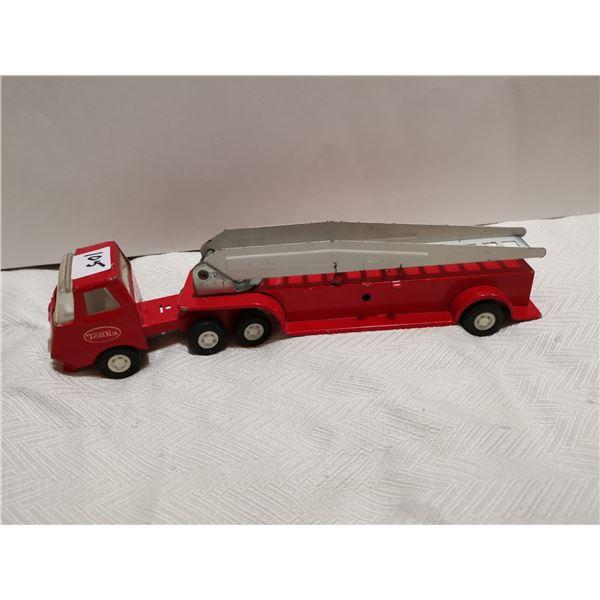 """Fire ladder metal Tonka truck, 10"""""""