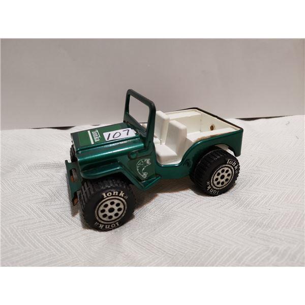 "Metal Tonka Jeep 6"""