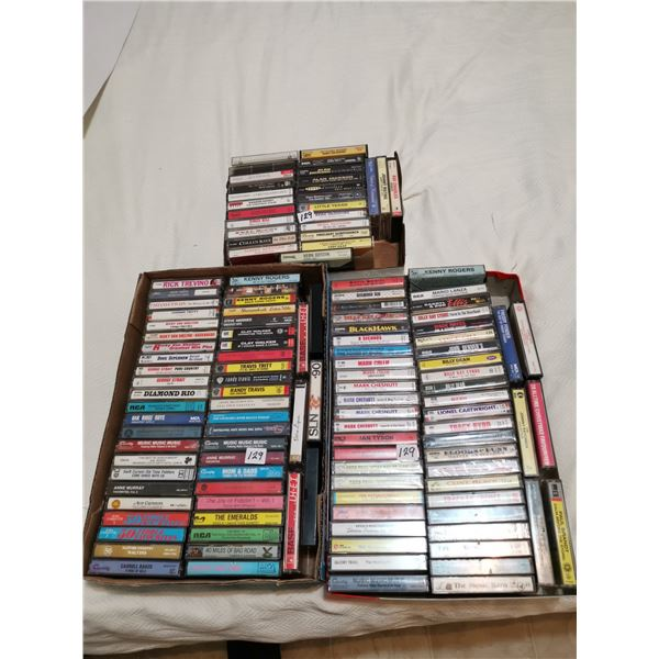 130 cassette tapes