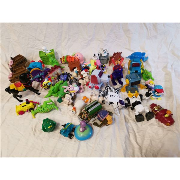 50 working wind-up toys
