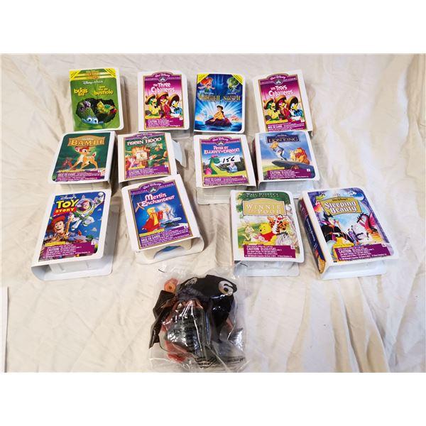 13 Walt Disney toys in original boxes