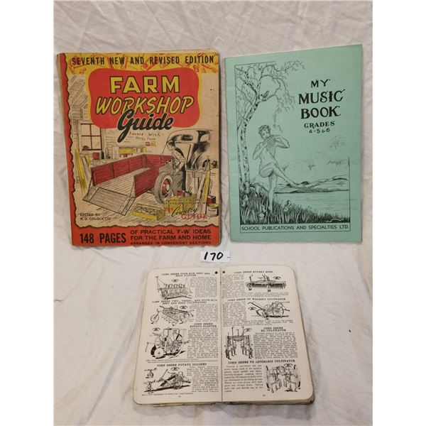 3 old books