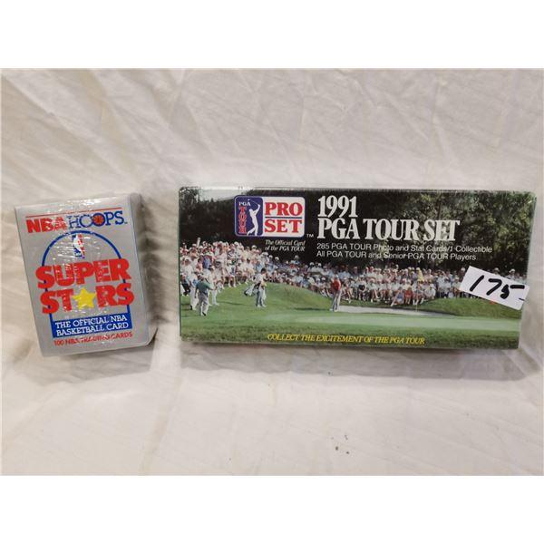 1990 NBA, 1991 PGA boxed cards