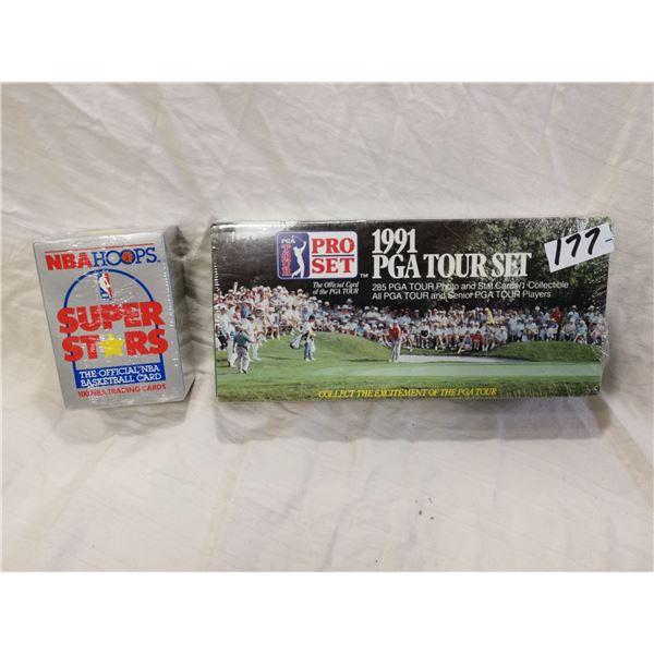 1991 PGA, 1990 NBA cards