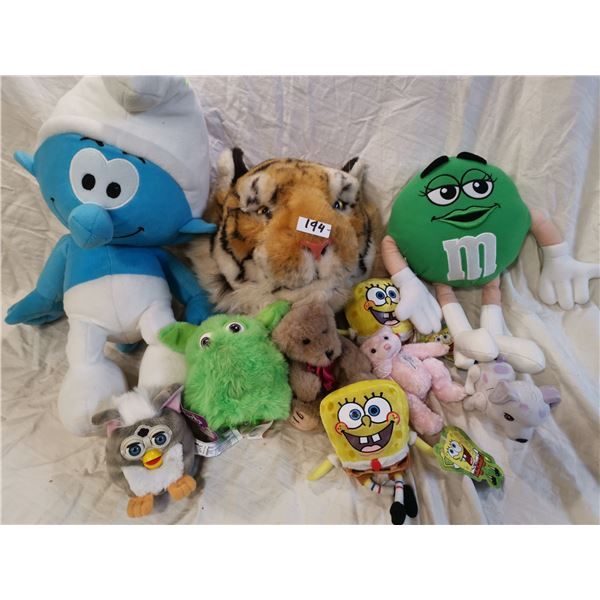 Mixed lot of children's toys - Tiger mask